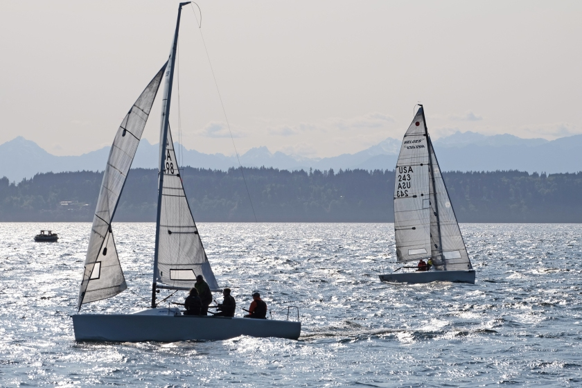sailboat seattle golden gardens visit travel photography water sun two boats
