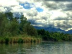 rogue river jetboat adventures clouds mountain photography